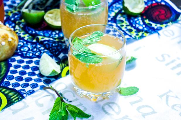 cocktail ananas gingembre rhum