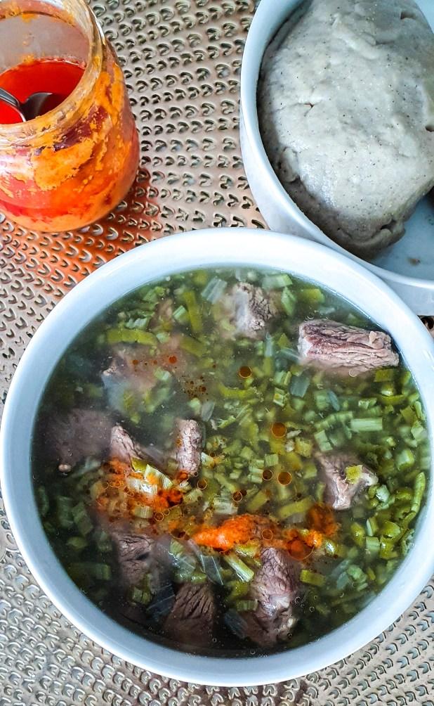 sauce gombo au boeuf