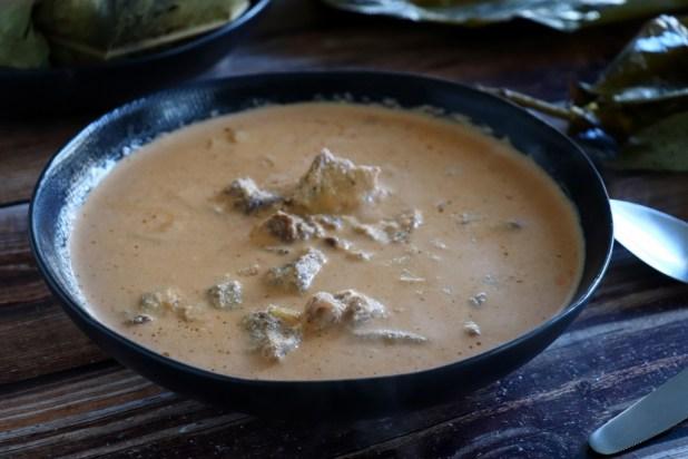 sauce blanche (arachides)