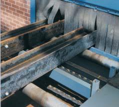 echipamente sablare tip tunel - tabla si profile