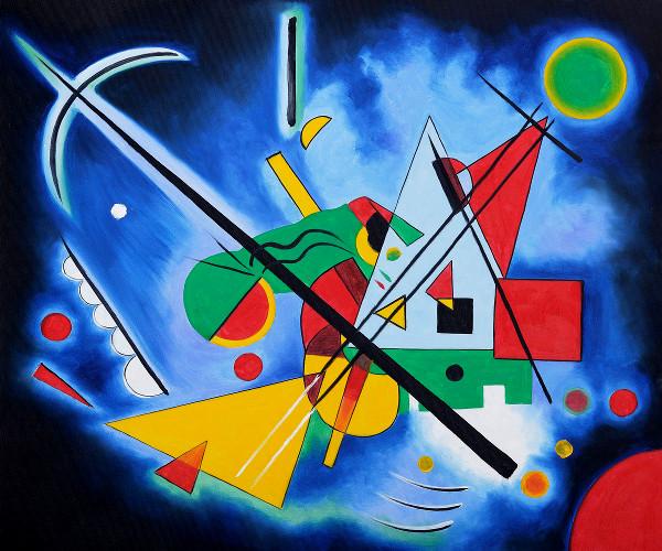 Opera di Vasilij Kandinskij (1866-1944)