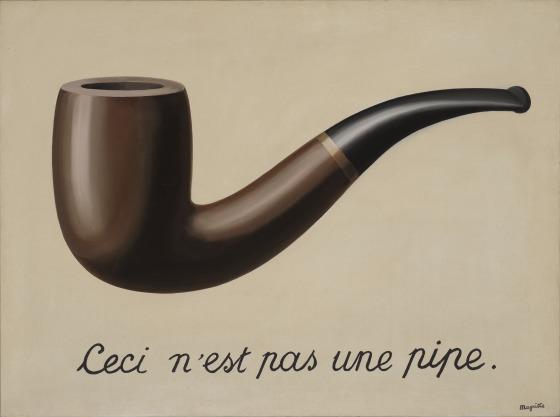Incipit ad arte | Magritte, La trahison des images 1929