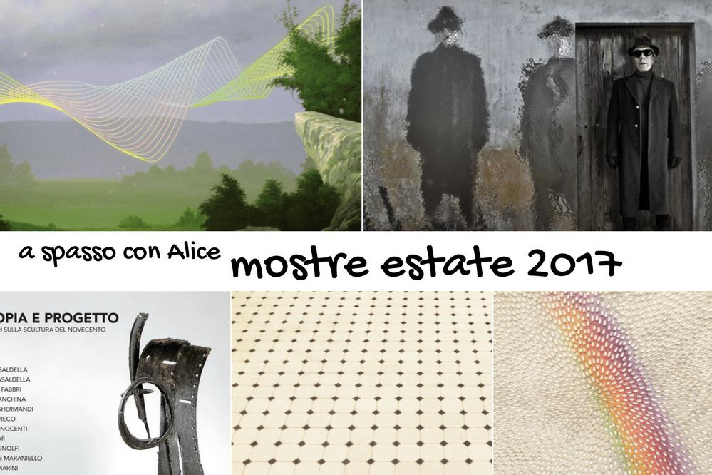 A spasso con alice exhibition tour mostre estate 2017 for Mostre pittura 2017