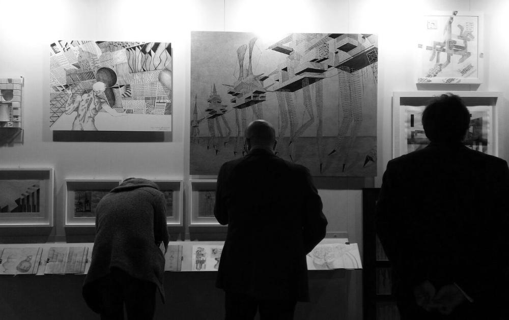 SetUp 2018 : opere di Massimo Gasperini - courtesy Galleria La Linea, Montalcino