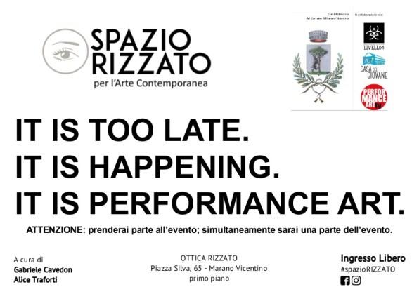 flyer performance art_fronte