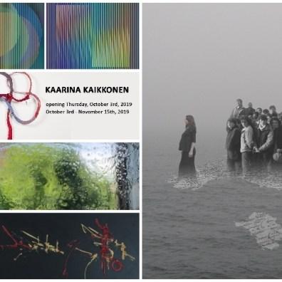 OTTOBRE 2019: mostre arte contemporanea