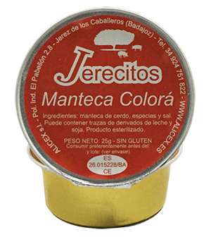 Manteca Colorá Jerecitos - Alicex