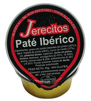 Paté ibérico Jerecitos - Alicex