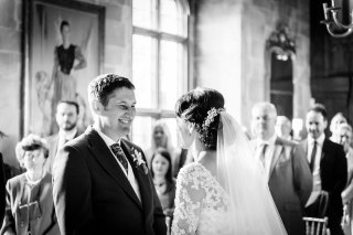 I got the words right - Berkeley Castle Wedding
