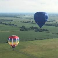 O dia em que andamos de balão em Quebec
