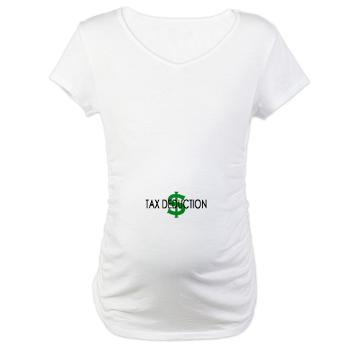 tax deduction maternity shirt tax refund plans