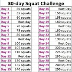 30 Day Workout Challenge: Squats
