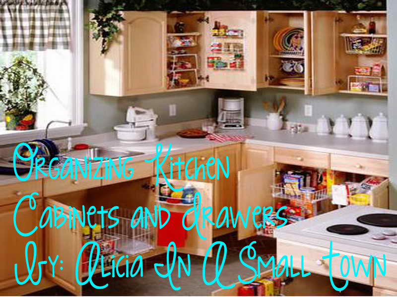 Kitchen Drawers And Cabinets Organization