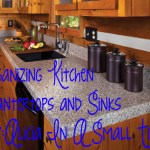 Organizing Kitchen Counters And Sink