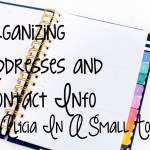Organizing Addresses and Contact Info
