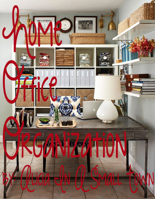 52 Week Home Organization Office