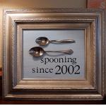 Spooning Since Frame DIY Tutorial