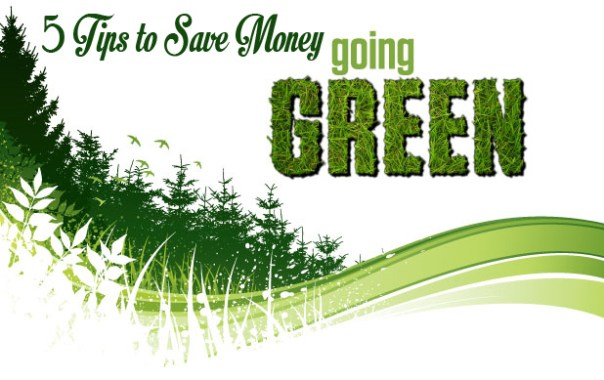 5 tips to save money going green 5 More Tips For Going Green