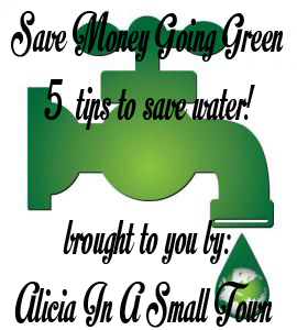 save money going green save water copy
