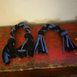 DIY Dog Rope Toys