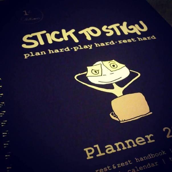 stick to stigu planner cover
