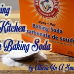 A Green Challenge: Cleaning The Kitchen With Baking Soda