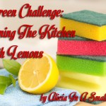 A Green Challenge: Cleaning The Kitchen With Lemons