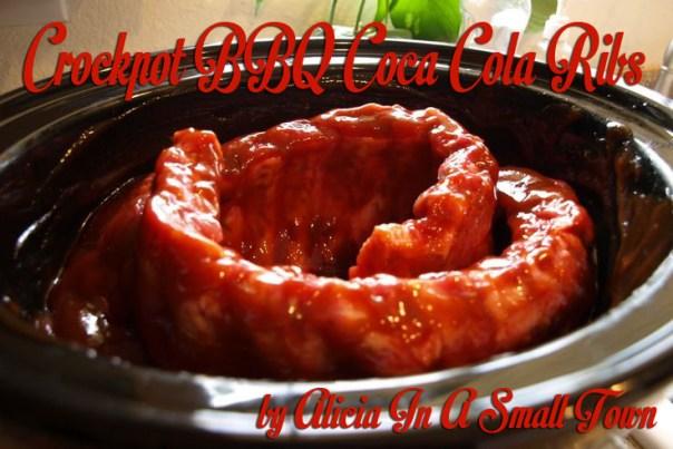Crockpot BBQ Coca Cola Ribs