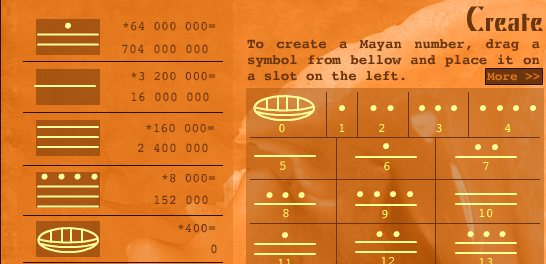Mayan Math Screenshot