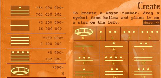 Mayan Math Screenshot