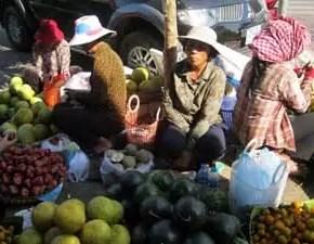 Fruit Seller in Phnom Penh1