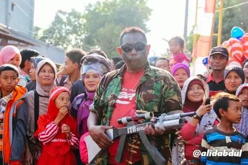 Aksi Teatrikal Pawai Budaya Jombang Alid (2)