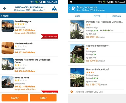 Traveloka vs Tiket 1