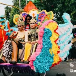 Karnaval Jombang 2016 Bhineka Tunggal Ika 3