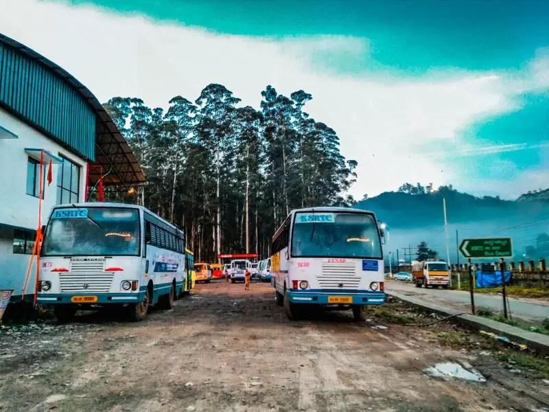 Bus Munnar  3