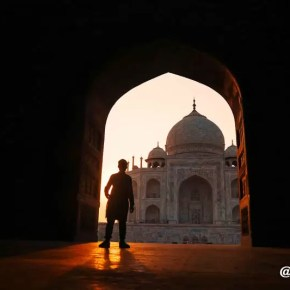 Spot 4 Foto di Taj Mahal 4