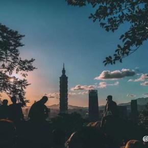 Sunset in Xiangshan Taipei 2