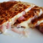 Onion Cheese Quesadilla