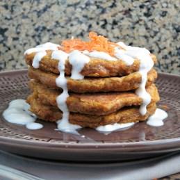 Carrot Cake Pancakes | alidaskitchen.com
