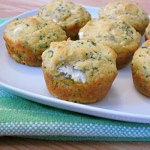 Herbed Goat Cheese Muffins