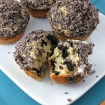Oreo Cookies and Cream Muffins