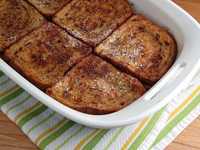 baked cinnamon french toast casserole | alidaskitchen.com