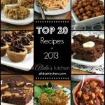 Top 20 Recipes of 2013!