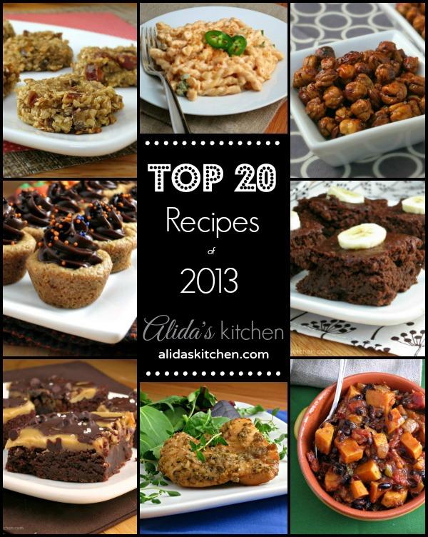 Top 20 Recipes of 2013 on alidaskitchen.com