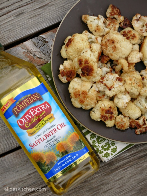 An easy recipe for Roasted Cauliflower that tastes good! | alidaskitchen.com #recipes #PantryInsiders #cauliflower #glutenfree #vegan