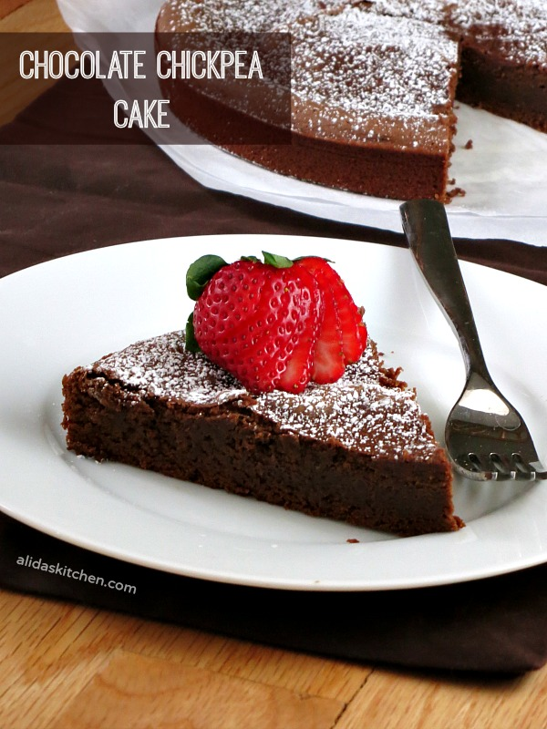 Chocolate Chickpea Cake | alidaskitchen.com