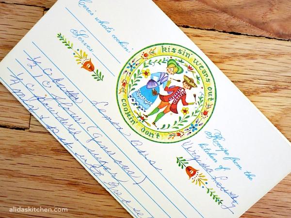 Grandma's Lemon Bars | alidaskitchen.com