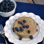 Blueberry Vanilla Pancakes