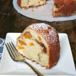 Peach Buttermilk Bundt Cake