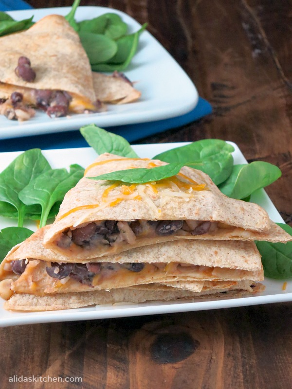 Santa Fe Chicken Baked Quesadillas | alidaskitchen.com